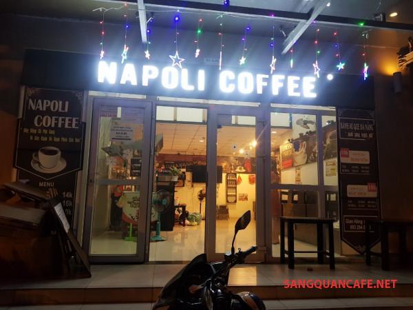Sang quán cafe ở dưới chung cư Đất Xanh - Sunview Town, số 18 đường Gò Dưa, quận Thủ Đức.