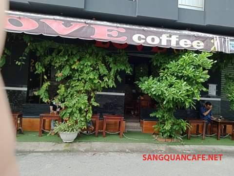 Cần sang nhanh quán cafe mặt tiền đường  Tên Lửa, phường Bình Trị Đông B, quận Bình Tân.