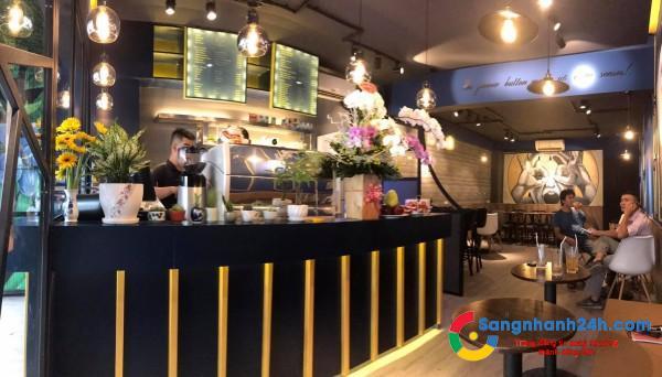 Sang nhanh quán cafe mặt tiền Nguyễn Văn Đậu, Bình Thạnh, Hcm